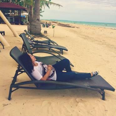 A beach bum wannabe.